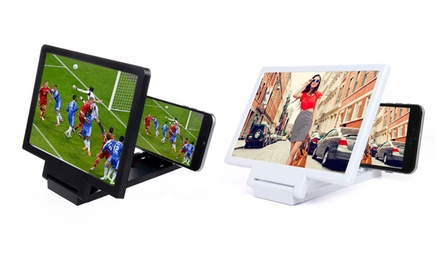 One or Two Smartphone Screen Amplifiers