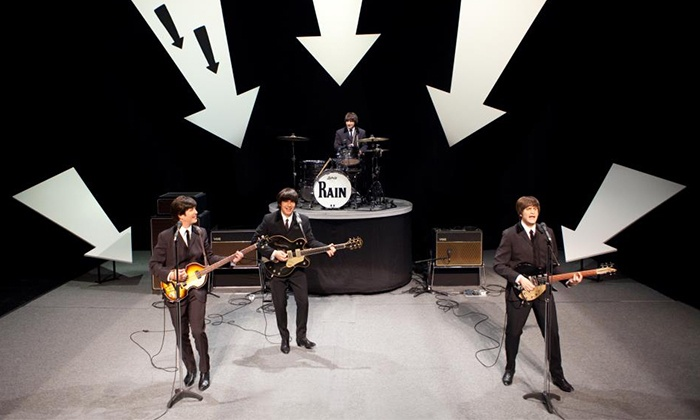 """Rain: A Tribute to the Beatles - Bergen Performing Arts Center: """"Rain: A Tribute to the Beatles"""" at Bergen Performing Arts Center on April 28 at 7:30 p.m. (Up to 52% Off)"""