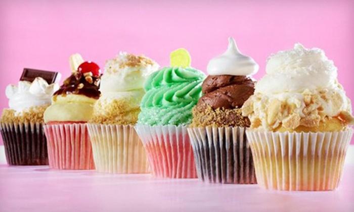 Gigi's Cupcakes - Spring Hill: $6.49 for Four Gourmet Cupcakes at Gigi's Cupcakes ($13 Value)