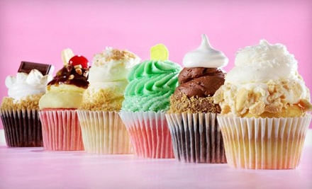 $6.49 for Four Gourmet Cupcakes at Gigi's Cupcakes ($13 Value)