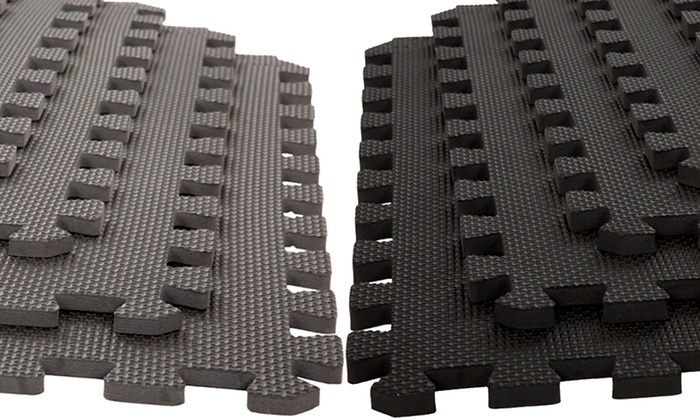 Off On Interlocking Foam Mat Tile Set