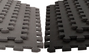 Interlocking EVA Foam Mat Floor Tiles (6-Pack)