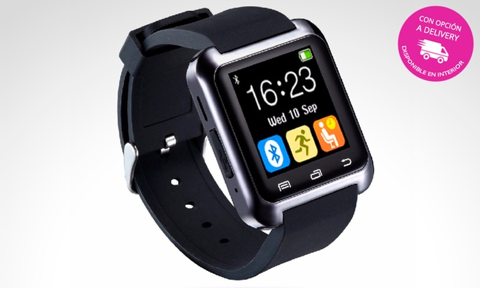 pick up - Múltiples sucursales: Desde $445 en vez de $999 por smartwatch U8 con Bluetooth con delivery o retiro. Pagá en cuotas sin interés