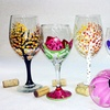 Up to 32% Off BYOB Wine Glass Painting at Creatively Yours
