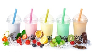 Bubble Hut: Bubble tea, Milkshakes, and Smoothies at Bubble Hut (40% Off). Two Options Available.