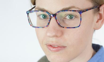 $35 for an Eye Exam and $100 Toward Prescription Glasses ($184 Value)
