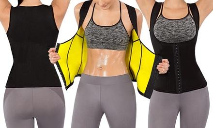 for a Hot Sauna Sweat Corset Vest Body Shaper