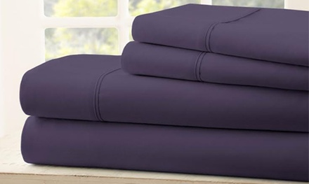 Memorial Day 1800 Thread Count Egyptian Cotton Sheet Set (4-Piece) Sale at Royal Bliss Linens