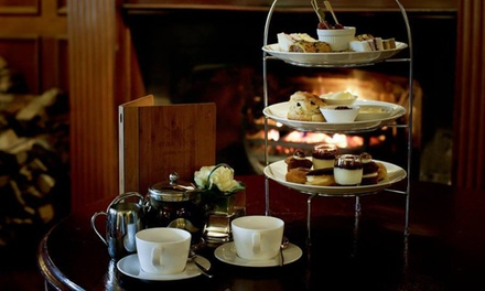 Traditional or Festive Afternoon Tea for Two or Four at The Old Garrison