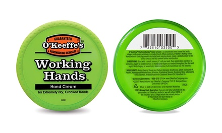 Two or FourPack of O'Keeffe's Working Hands Hand Cream 96g