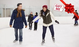 Liverpool Catholic Club Ice Rink: Ice Skating - $9 for One Person, or $30 for a Family of Four at Liverpool Catholic Club Ice Rink (Up to $62 Value)
