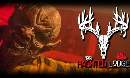 Haunted Maze Admission for One, Two, or Four at The Haunted Lodge on October 11–31 (Up to 39% Off)