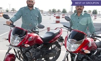 10 Hours Practical Motorcycle Towards 15 hours Course at Drive Dubai (60% Off)