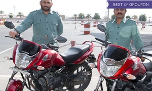 Drive Dubai: 10 Hours Practical Motorcycle Towards 15 hours Course at Drive Dubai (60% Off)