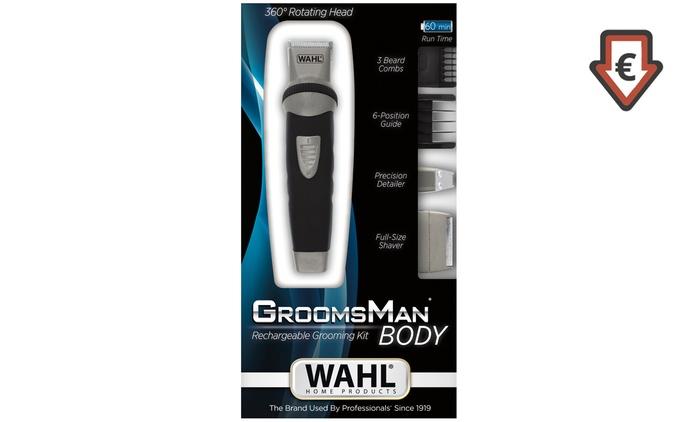 Wahl GroomsMan Bodygroomer und Bartschneider