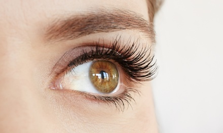 Lash, Lift and Tint Treatment or Russian Eyelash Extensions at Belleva Locks and Beauty