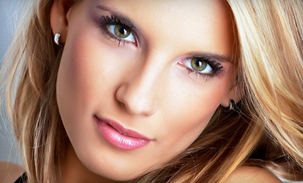 Haircut, Deep-Conditioning Treatment, and Style with Color or Partial Highlights at Chris & Co. Salon (Up to 59% Off)