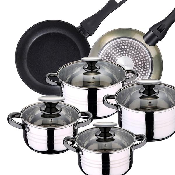 Hasta 14% dto. Batería de cocina 10 piezas | Groupon