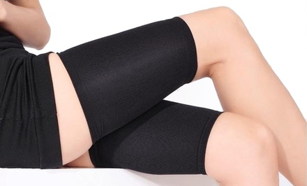 Two-Pack of Compression Thigh Slimmer Wraps