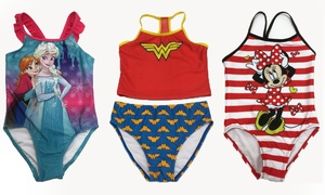 Toddler and Kids' Cartoon Character Swimsuit