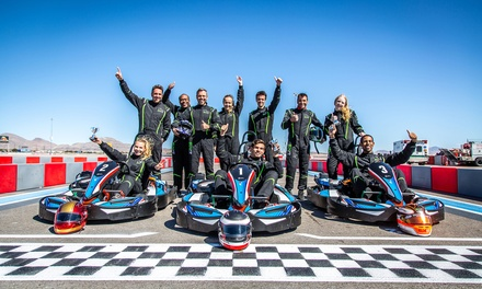 One or Two Go-Kart Races for One or Two Drivers at Vegas Superkarts (Up to 58% Off)