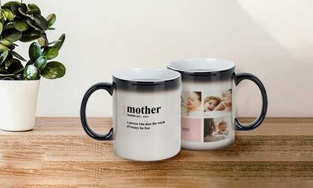 Personalised Photo or Magic Mug: One (from $6.95) or Two (from $10.95) (Don't Pay up to $39.95)