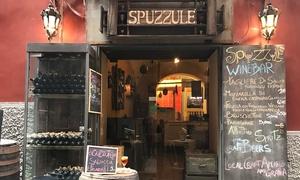 Spuzzulè: Degustazione vini del Sannio e prodotti irpini a km 0 per 2 o 4 persone da Spuzzulè (sconto fino a 61%)