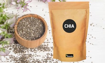 1000 g, 2000 g oder 3000 g Hanoju Chia-Samen (bis zu 33% sparen*)