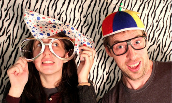 Posers Photobooth - London, ON: C$349 for Three-Hour Photo-Booth Rental from Posers Photobooth (C$700 Value)