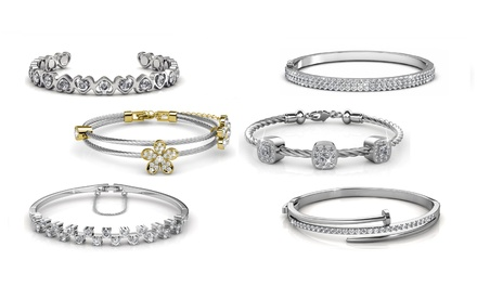 From $25 for a Bangle Embellished with Crystals from Swarovski® (Don't Pay up to $126.49)