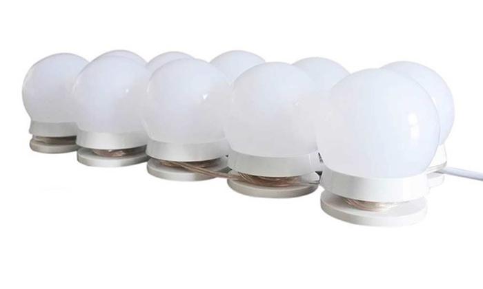 Spiegellamp Voor Badkamer : Set van 10 led spiegellampen groupon goods
