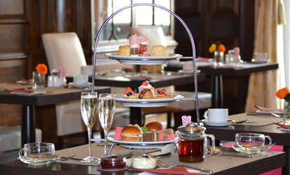 image for Chocolate Afternoon Tea for Two, Optional Prosecco or Champagne at The Grand Royale London, Hyde Park (Up to 58% Off)