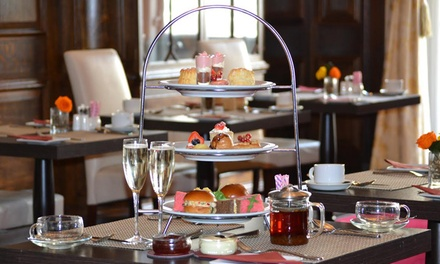 Chocolate Afternoon Tea for Two with Prosecco or Champagne at The Grand Royale London (Up to 54% Off)