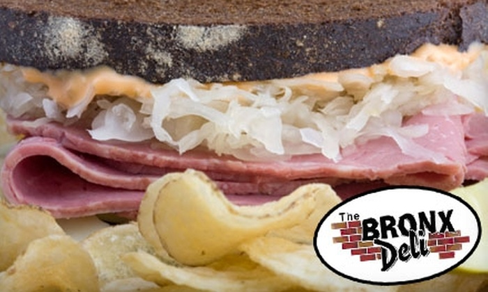 The Bronx Deli - Pontiac: $10 for $20 of New York–Deli Fare at The Bronx Deli in Pontiac