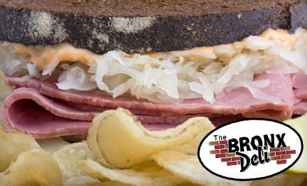 $20 Groupon to The Bronx Deli - The Bronx Deli in Pontiac