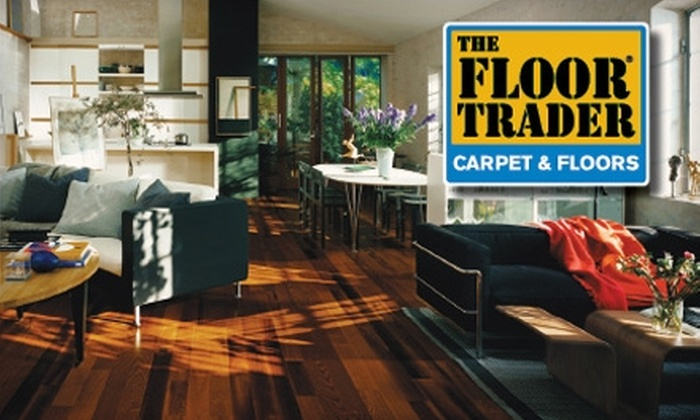 Floor Trader - Multiple Locations: $49 for $100 Worth of Flooring at Floor Trader