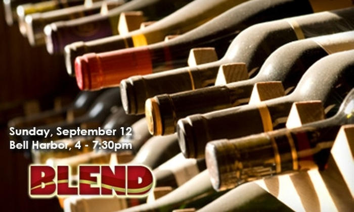 BLEND: The World's Best Wine, Food & Places - Seattle: $29 Admission to BLEND: The World's Best Wine, Food & Places on Sunday, September 12 at 4 p.m.