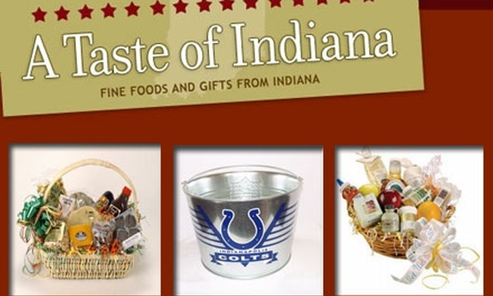 A Taste of Indiana - Indianapolis: $25 for $50 Worth of Gift Baskets, Treats, and More from A Taste of Indiana