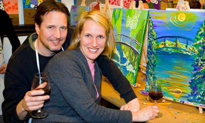 Whimsy Paint & Sip Art Studio - Erie: $22 for a Paint & Sip Event at Whimsy Paint & Sip Art Studio in Erie ($45 Value)