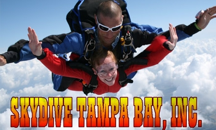 Skydive Tampa Bay - Bartow: $115 for One Tandem Jump and T-Shirt at Skydive Tampa Bay