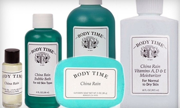 Body Time - Multiple Locations: $15 for $30 Worth of Body Time Products at Body Time