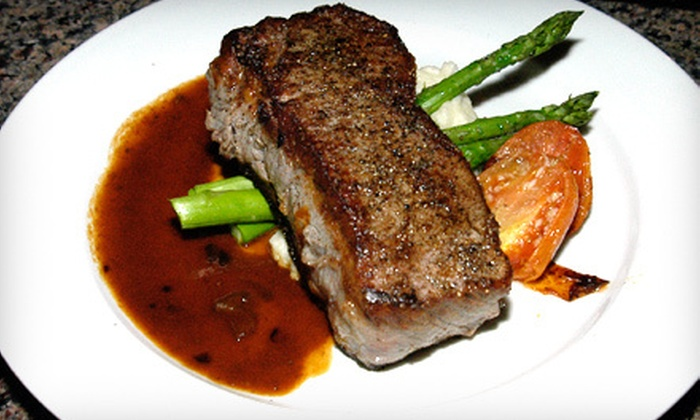 Nicholas James Bistro - Merrick: $25 for $55 Worth of Gourmet American Fare at Nicholas James Bistro in Merrick