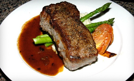 $55 Groupon to Nicholas James Bistro - Nicholas James Bistro in Merrick