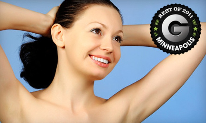 Angelic Skin Clinic - Brooklyn Park - Maple Grove: $199 for Six Laser-Hair-Removal-Treatments at Angelic Skin Clinic (Up to $1,500 Value)
