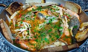 Lo Scoglio: Menu di pesce fresco con vino per 2 o 4 persone in centro a Pescara al ristorante Lo Scoglio (sconto fino a 69%)
