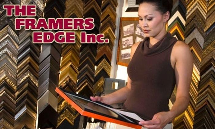 The Framers Edge - Arlington Heights: $40 for $125 Toward Custom Framing at The Framers Edge in Arlington Heights