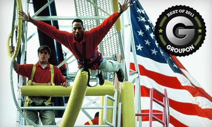 Zero Gravity - Northeast Dallas: $16 for One Extreme Thrill Ride at Zero Gravity in Dallas ($32.99 Value)