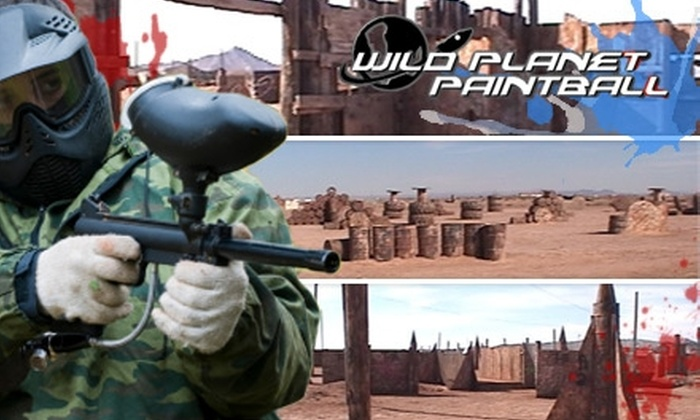 Wild Planet Paintball - Coolidge: $25 for One Full-Night Admission Plus Rental Equipment and 1,000 Rounds of Paintballs at Wild Planet Paintball in Casa Grande
