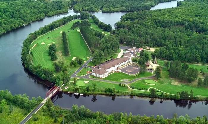 The Four Seasons Island Resort - Pembine, WI: 1- or 2-Night Stay for Two in a Suite at The Four Seasons Island Resort in Wisconsin Northwoods