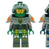 LEGO Nexo Knights Minifigure Alarm Clock